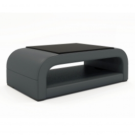 Table basse design gris NELLY