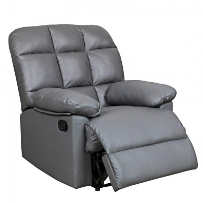Fauteuil relax gris JIMMY