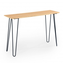 Table console design rétro SABA