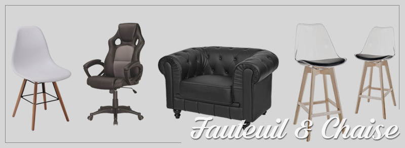 Fauteuil & chaise