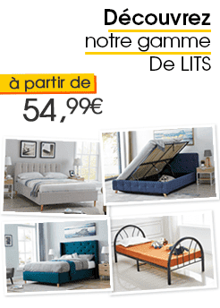 NOS LITS DESIGN & SCANDINAVE DECOINPARIS