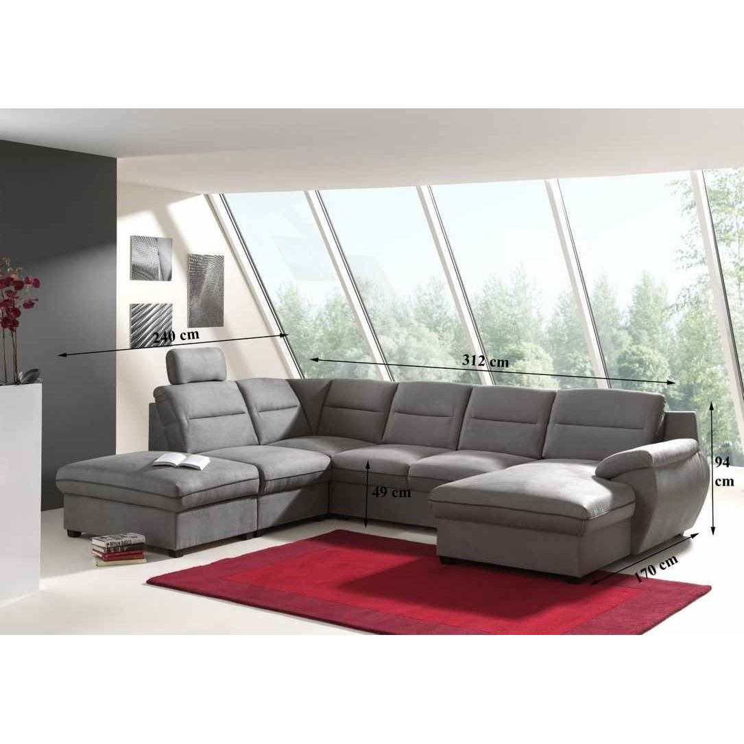 deco in paris canape d angle panoramique convertible. Black Bedroom Furniture Sets. Home Design Ideas