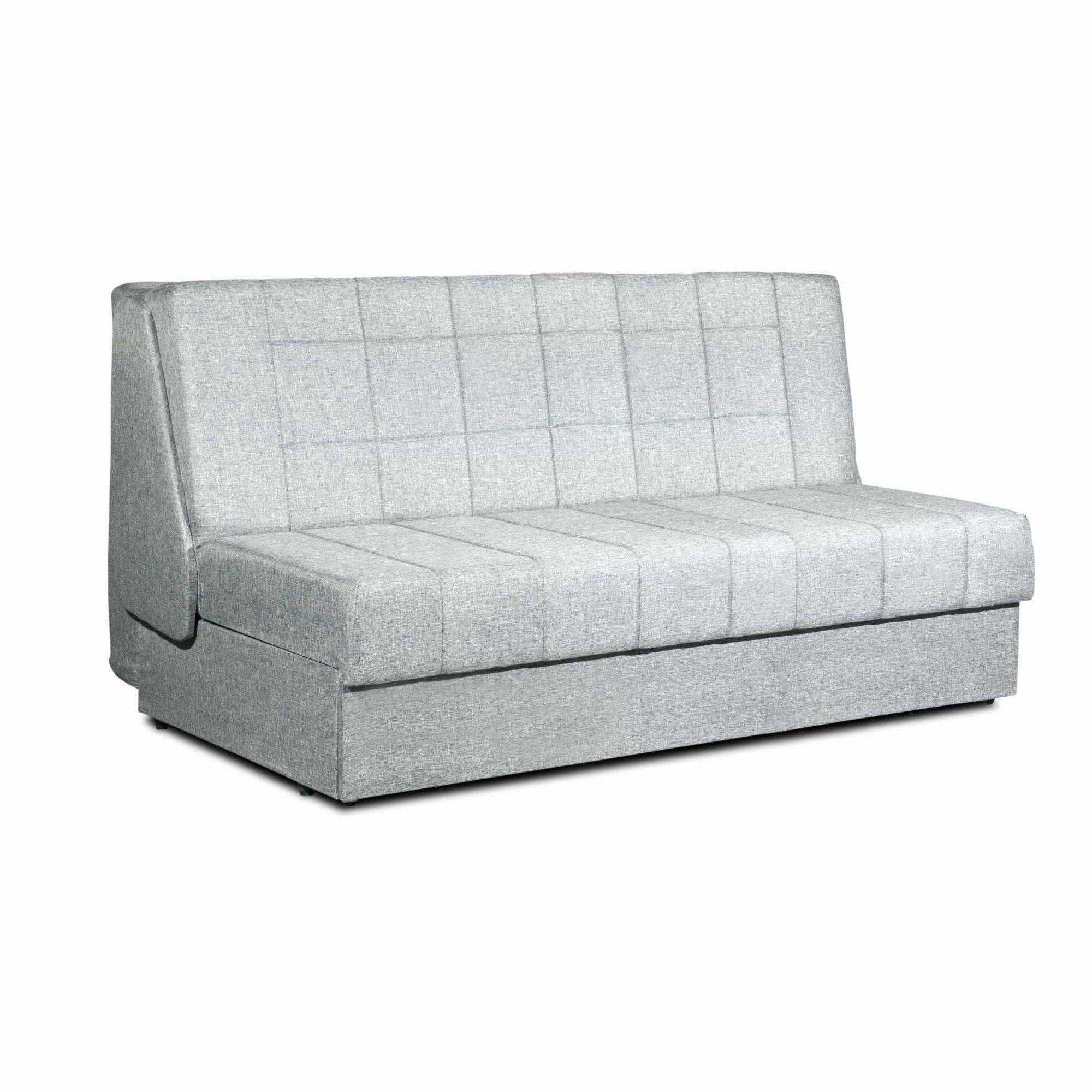 Deco in paris 5 canape convertible 3 places en tissu gris design dublin dub - Canape gris convertible ...