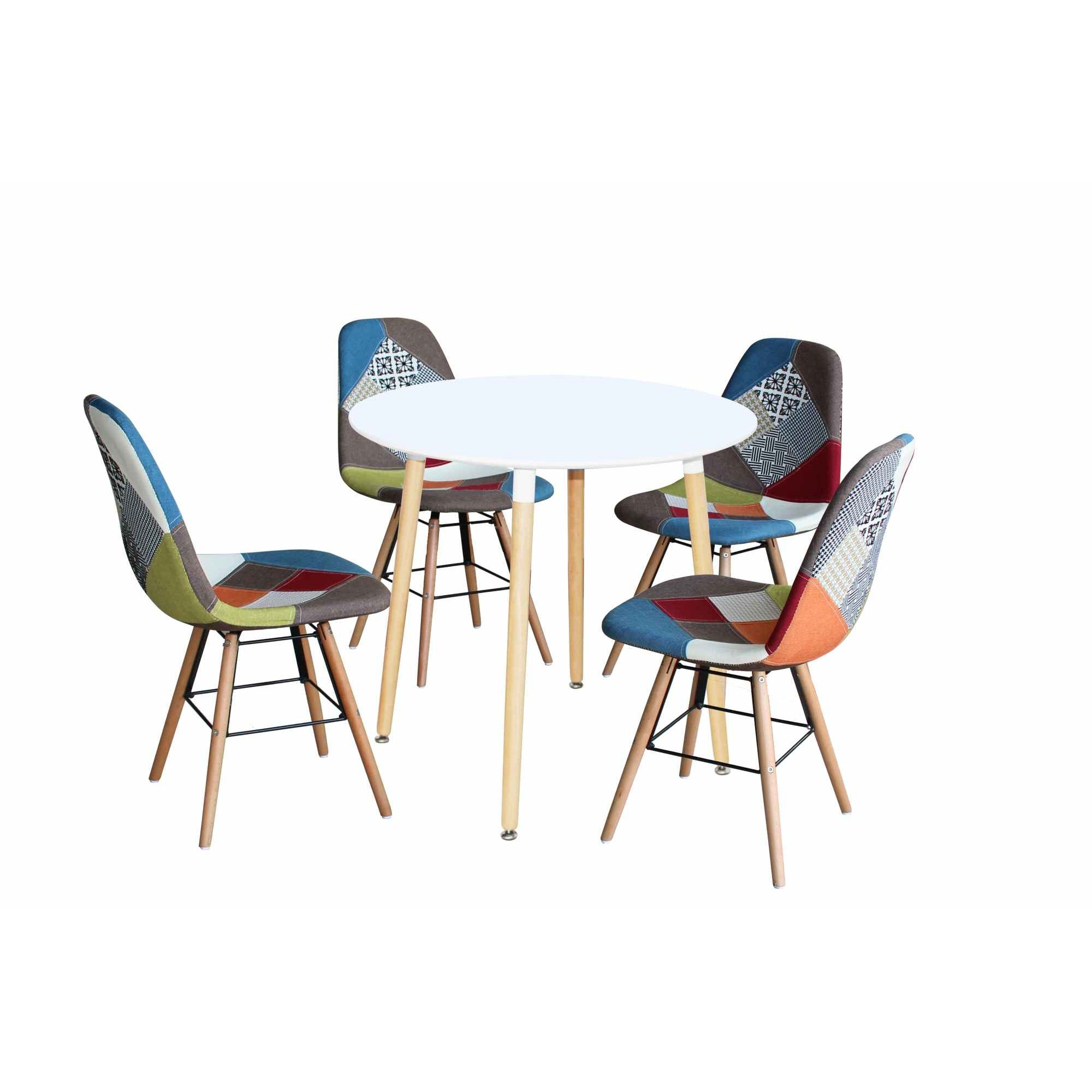 deco in paris table a manger ronde scandinave laquee blanc rimma tab ronde rimma. Black Bedroom Furniture Sets. Home Design Ideas
