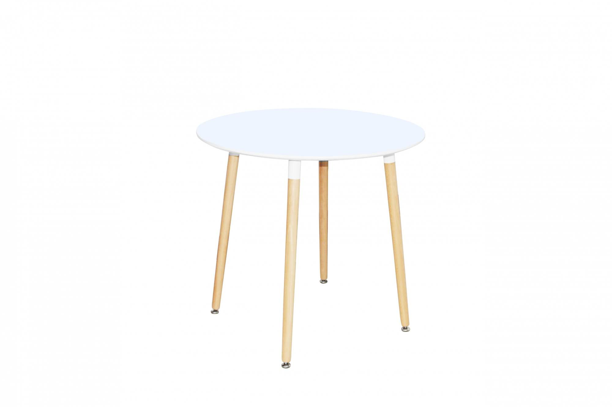 Ensemble table ronde RIMMA + 4 chaise patchwork scandinaves