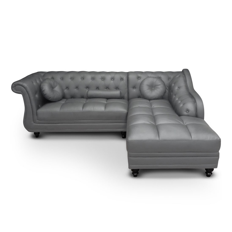 canap canap chesterfield gris 3 places velours pictures. Black Bedroom Furniture Sets. Home Design Ideas