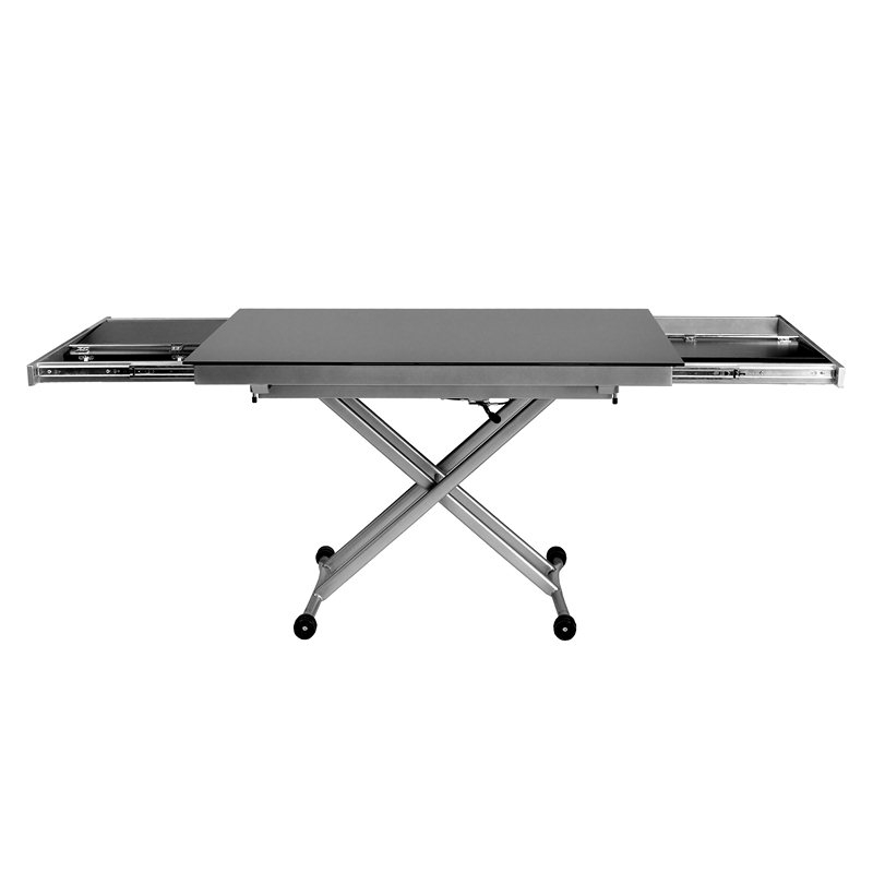 Table Basse Relevable Carrera Xl Noir Laqu? Menzzopremium 249 00  ~ Table Basse Relevable Carrera Noir Mat