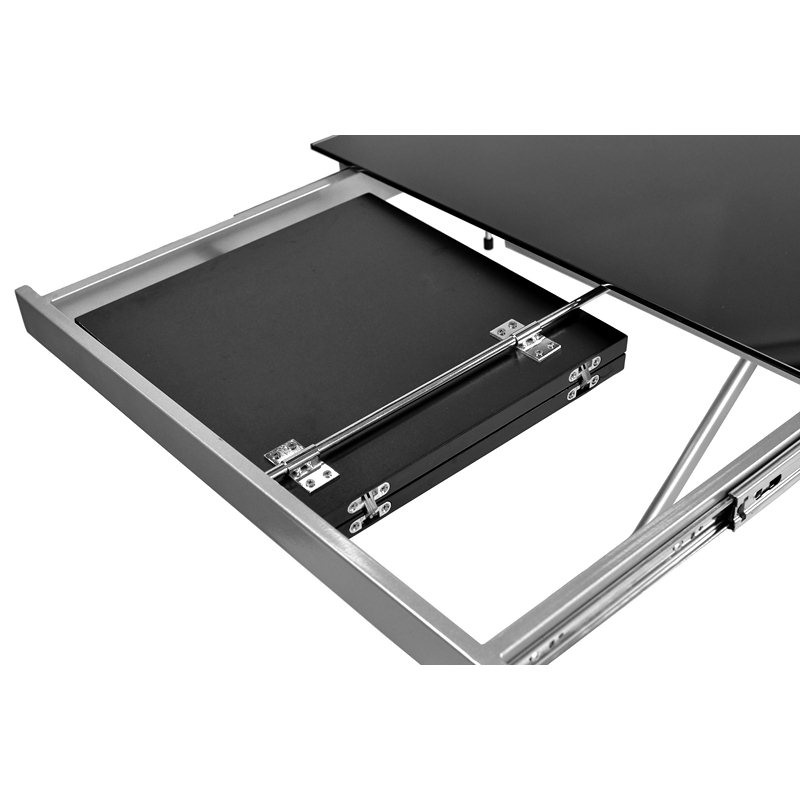 Table basse relevable carrera xl noir laqu menzzopremium - Table basse relevable noire ...