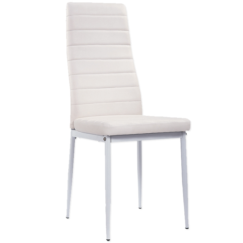 deco in paris lot de 8 chaises blanche iris lot 8 iris blanc. Black Bedroom Furniture Sets. Home Design Ideas