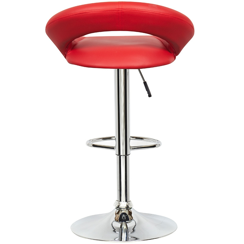 Deco in paris lot de 4 tabourets de bar rouge jeti jeti rouge x4 - Lot 4 tabouret de bar ...