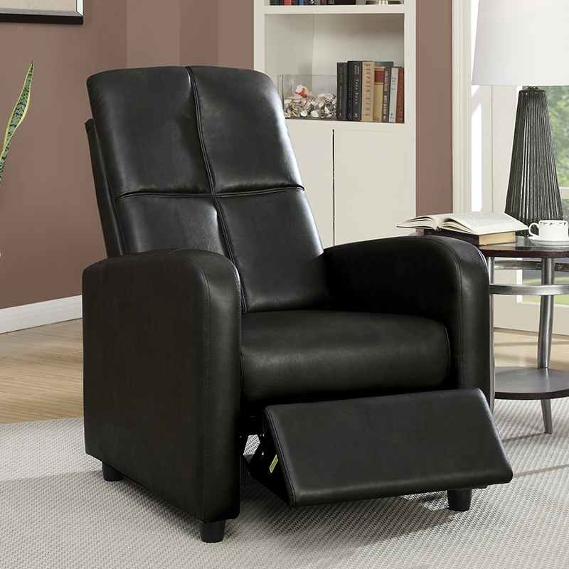 deco in paris fauteuil relax noir sleep sleep noir. Black Bedroom Furniture Sets. Home Design Ideas
