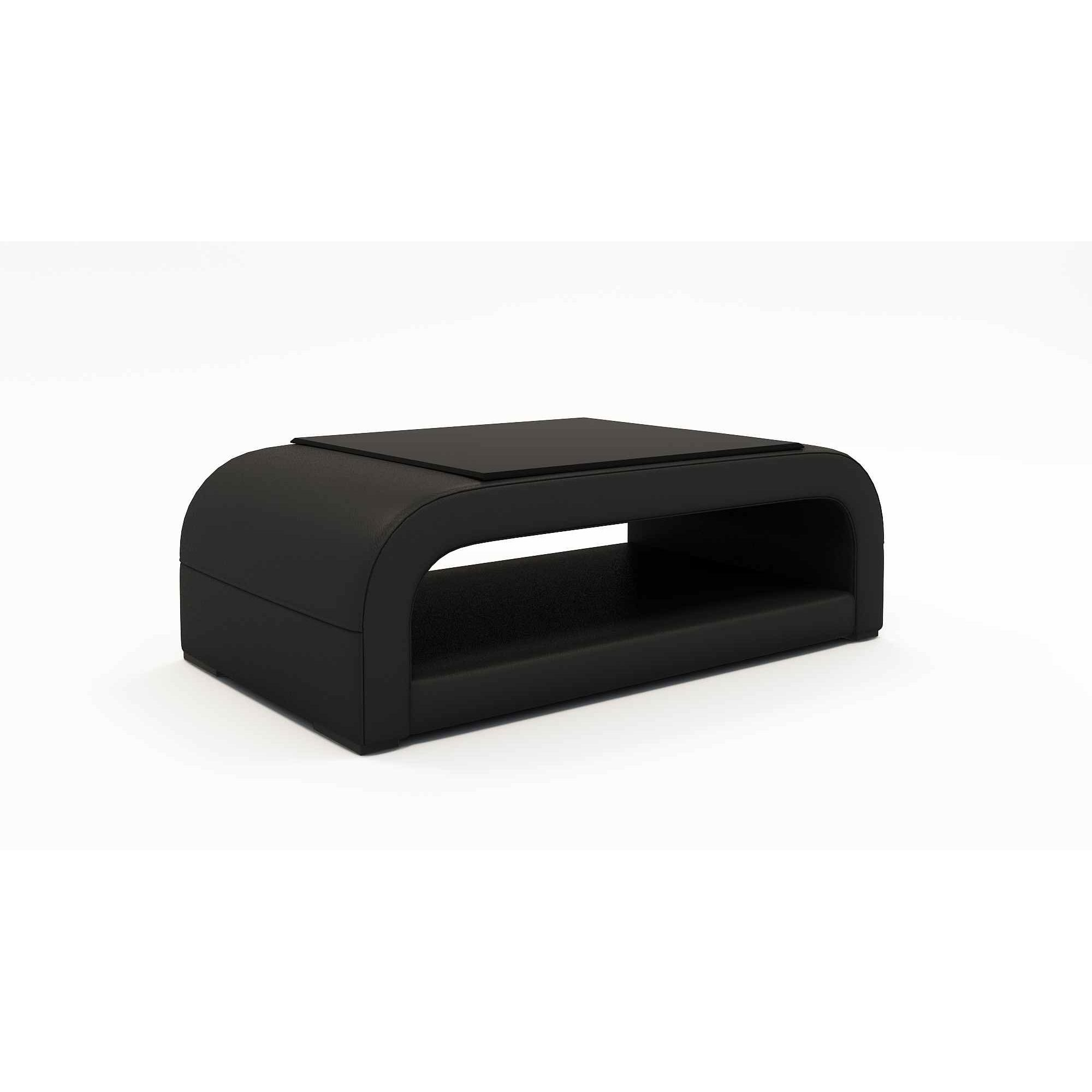 Deco in paris table basse design noir nelly nelly tab - Table basse noire design ...