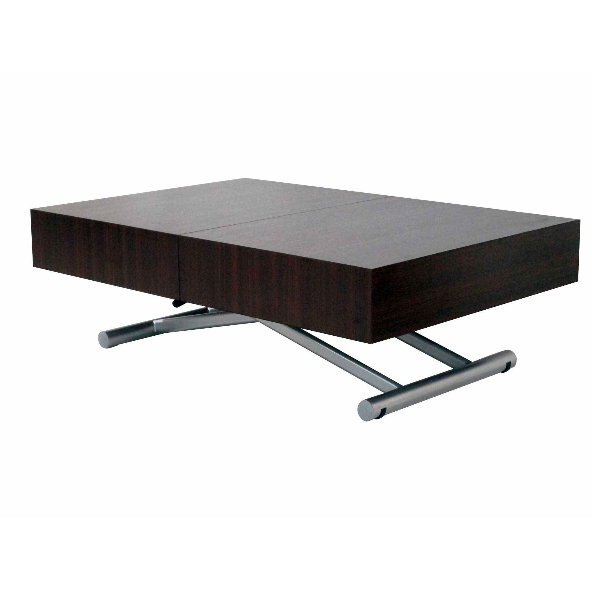 deco in paris table basse relevable extensible wenge. Black Bedroom Furniture Sets. Home Design Ideas