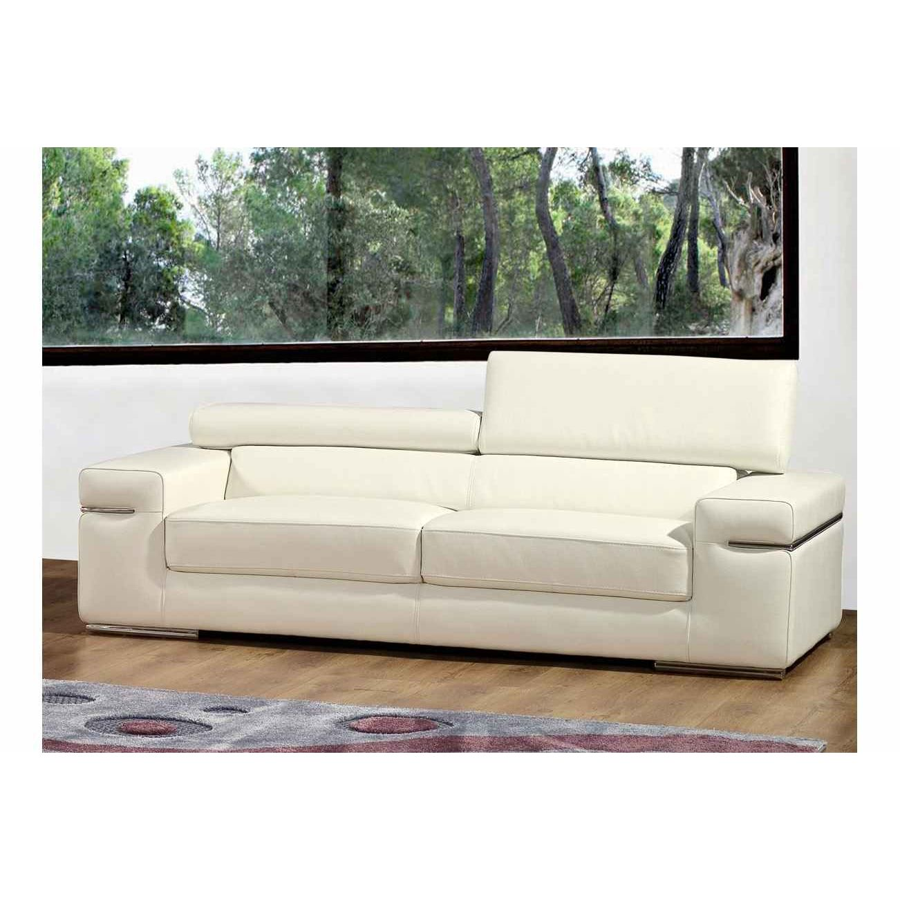 Canape 3 places cuir canap 3 places relax cuir wow but for Ikea sofas en cuir