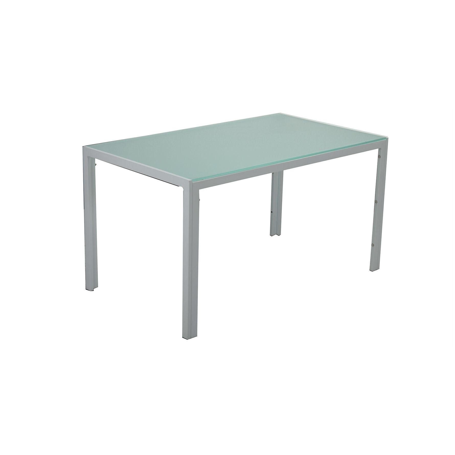 Table a manger verre blanc conceptions de maison for Table a manger verre