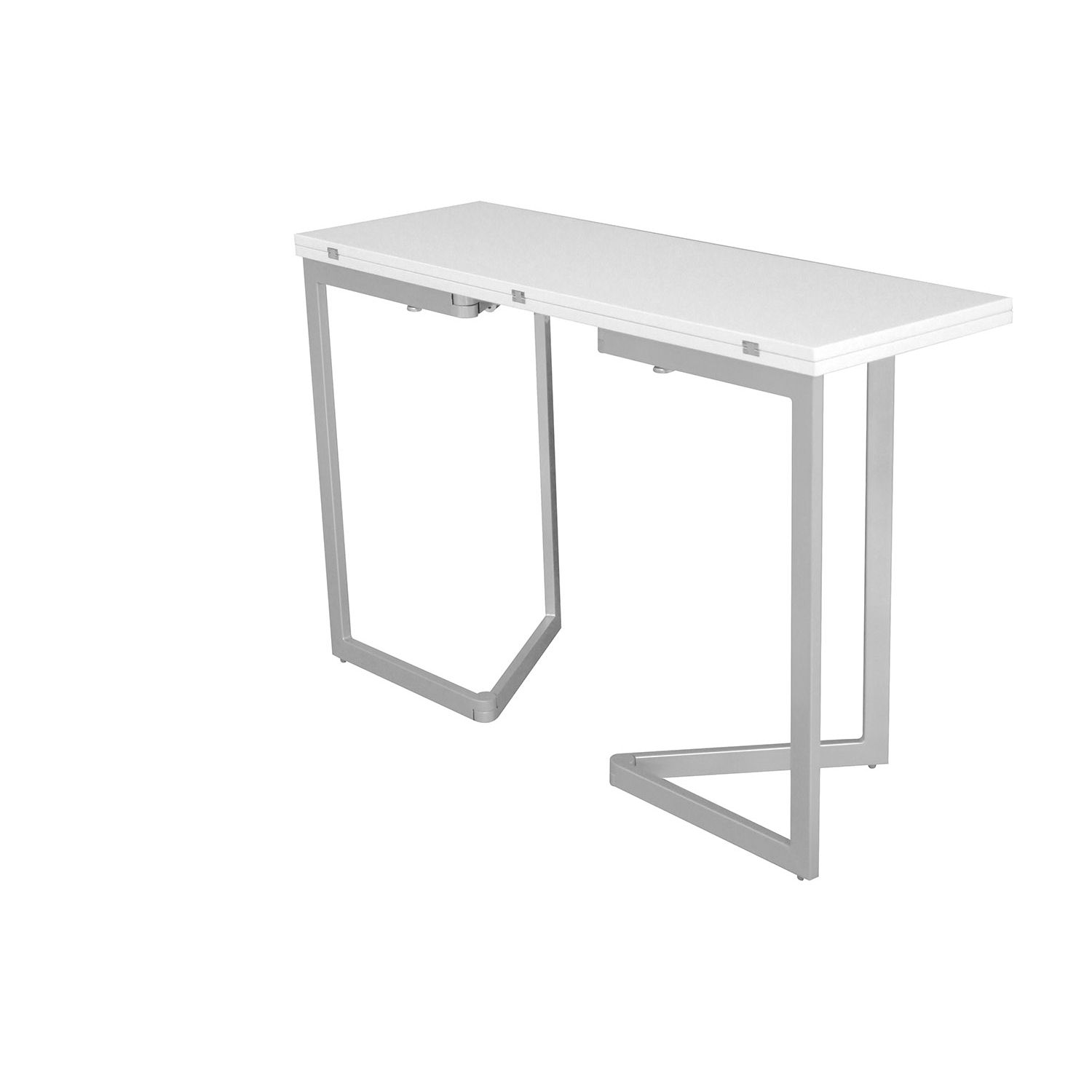 deco in paris table console extensible blanche laquee talia talia console blanc. Black Bedroom Furniture Sets. Home Design Ideas