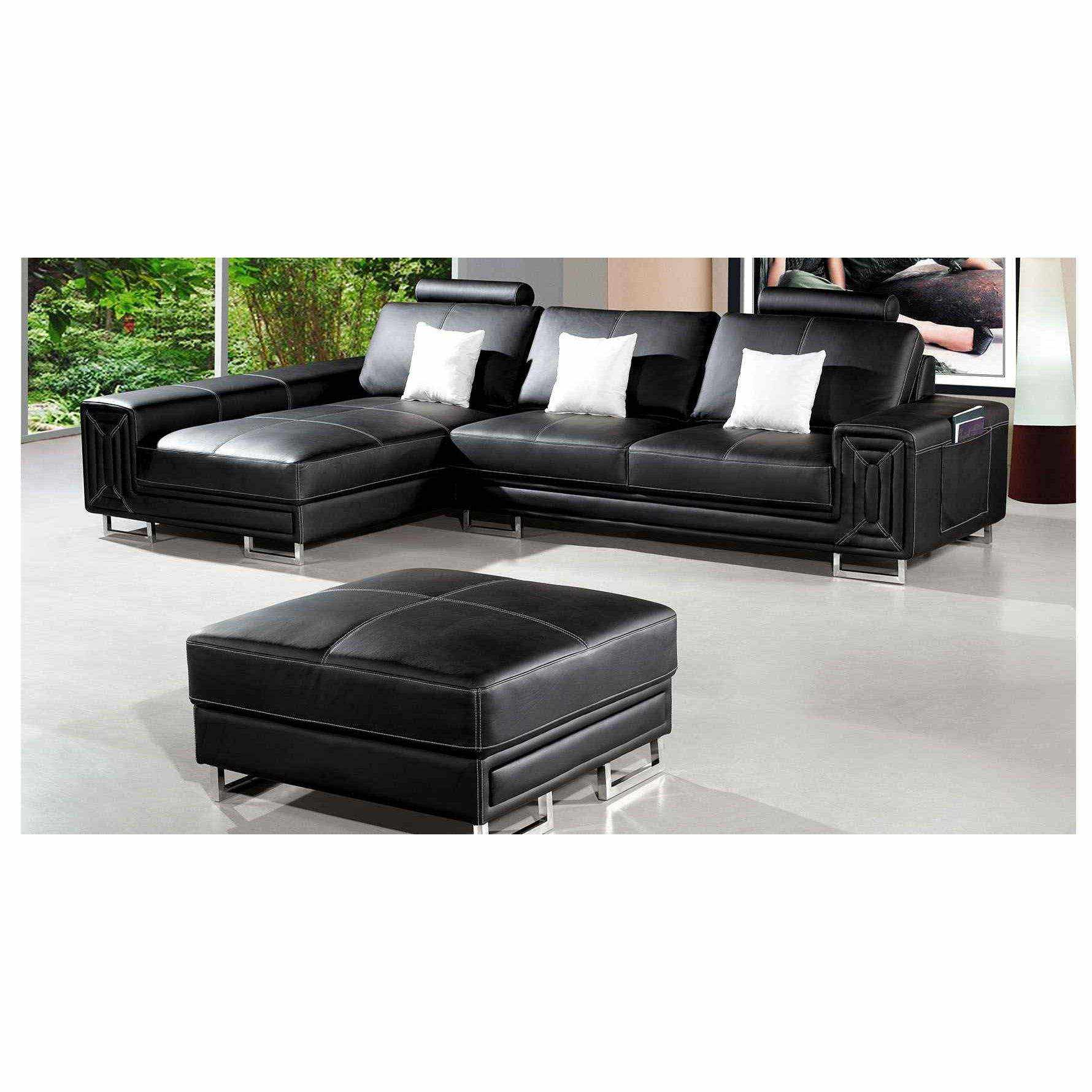 canap d 39 angle gauche convertible pouf sempre. Black Bedroom Furniture Sets. Home Design Ideas