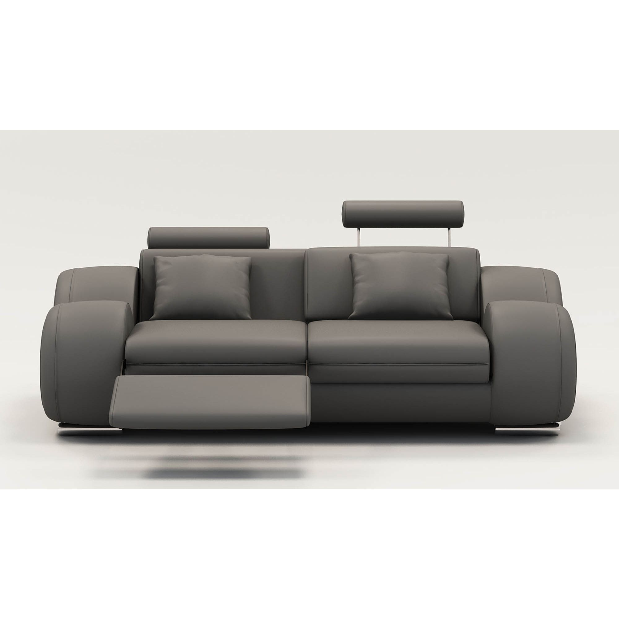 Deco in paris 3 ensemble cuir relax oslo 3 2 1 places - Canape cuir relaxation ...