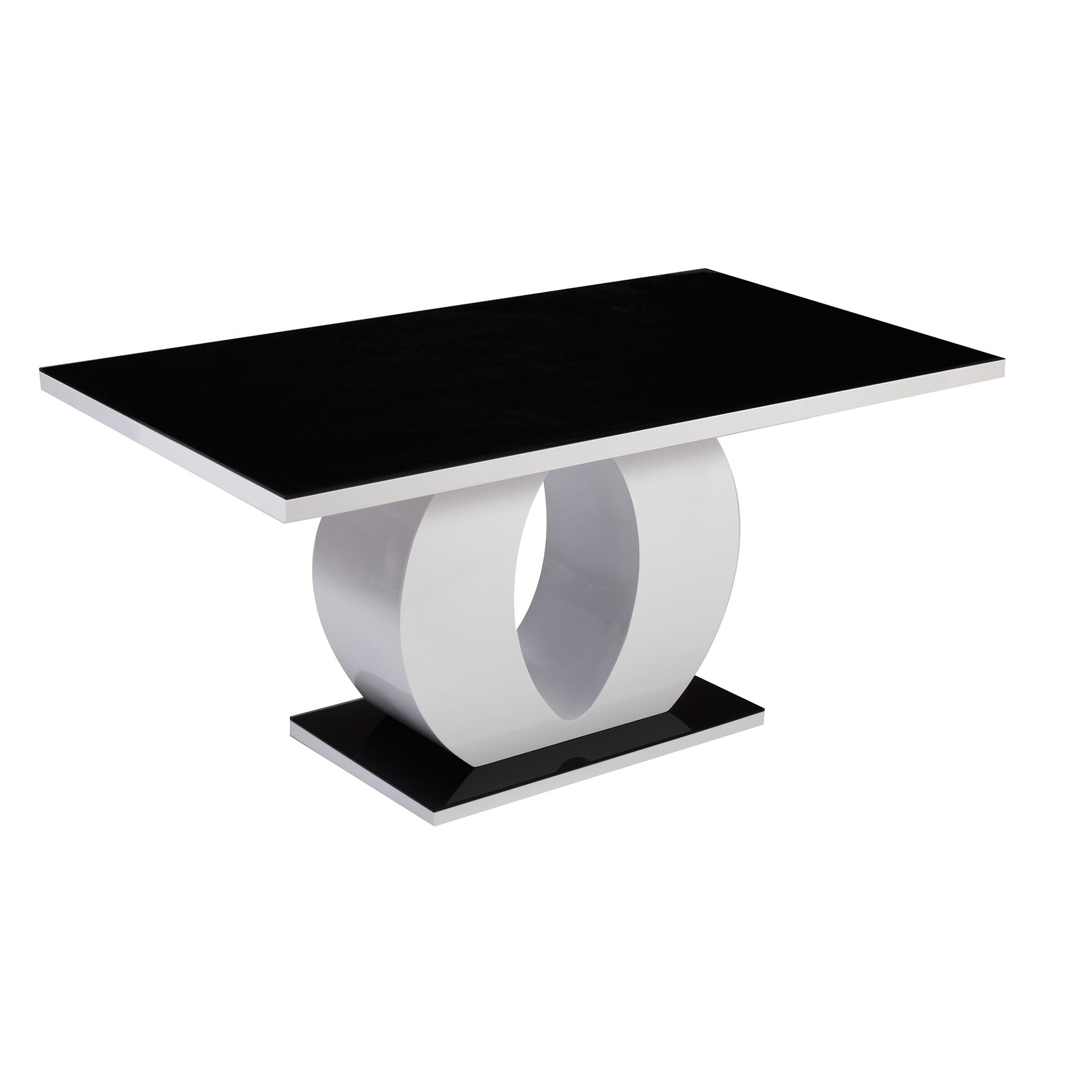 Beautiful table noire et chaises photos amazing house design - Chaise transparente ikea ...
