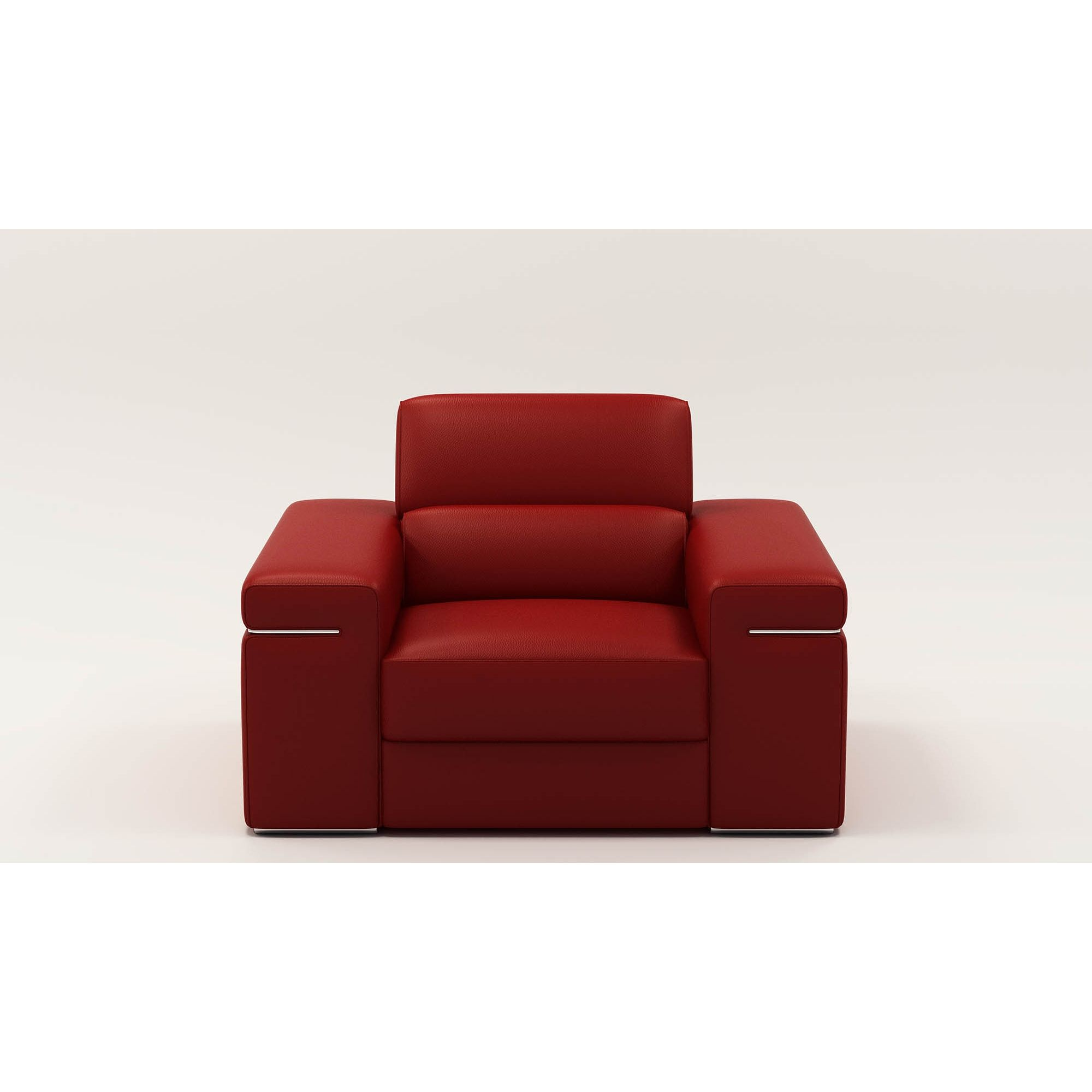 deco in paris 5 fauteuil cuir rouge thomas thomas 1p pu rouge. Black Bedroom Furniture Sets. Home Design Ideas