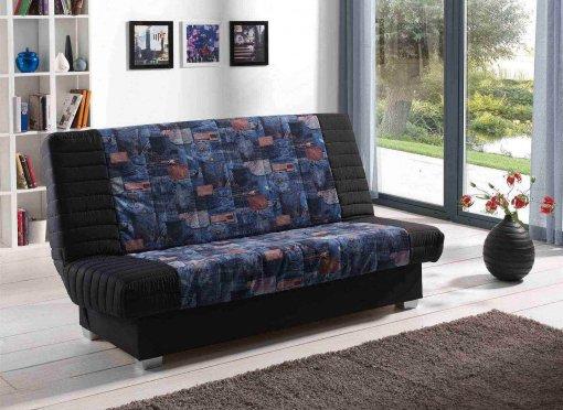 deco in paris 8 canape clic clac convertible jeans clicclac jeans. Black Bedroom Furniture Sets. Home Design Ideas