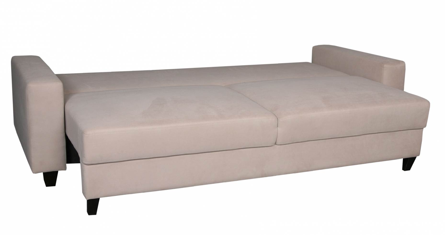 Deco In Paris 4 Canape 3 Places Convertible Beige Maya