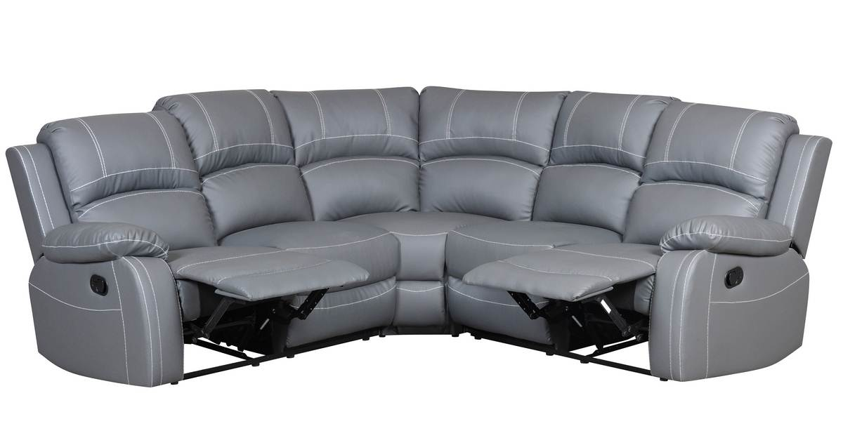 Deco in paris canape d angle relax gris joey angle joey gris 2a2 - Canape d angle le bon coin ...