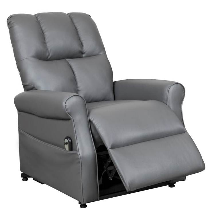 deco in paris fauteuil releveur relax gris a commande. Black Bedroom Furniture Sets. Home Design Ideas