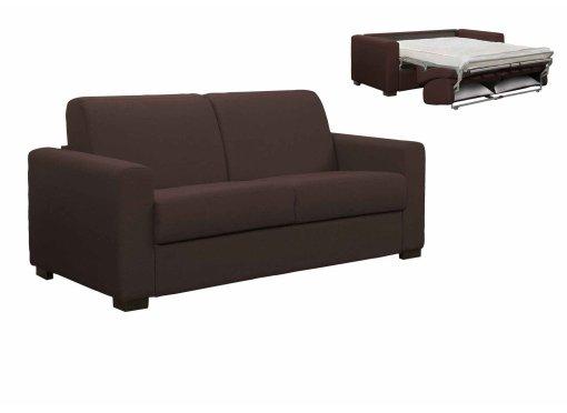deco in paris canape convertible 3 places louna en tissu bleu denim ouverture express louna. Black Bedroom Furniture Sets. Home Design Ideas