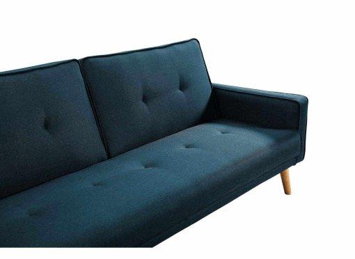 deco in paris canape d angle convertible modulable en tissu bleu canard clea angle gauche clea. Black Bedroom Furniture Sets. Home Design Ideas