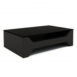Table basse design noir CELIA
