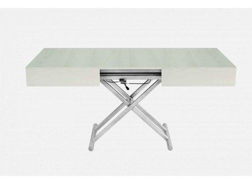 Deco in paris 4 table basse relevable extensible en bois - Menzzo table basse relevable extensible ...